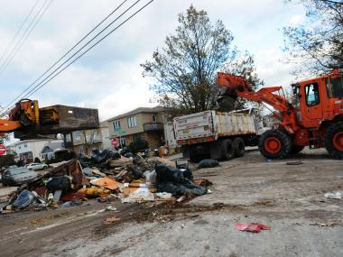 The Sanitation Department will cease collection of storm debris from homeowners on January 14, 2013.