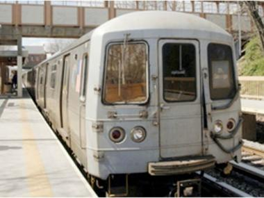 The Staten Island Railway derailed on August 7, 2014.