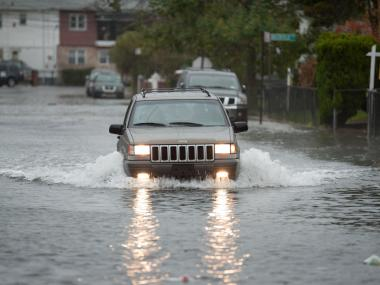 Hurricane Sandy is bearing down on New York City.