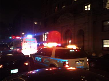 Two children were stabbed at the Rochelle at 57 W. 75th St.