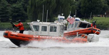 The Coast Guard discovered a body in the East River Sunday afternoon.