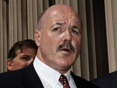 Former NYPD commissioner Bernard Kerik came out against a proposed mosque near ground zero.