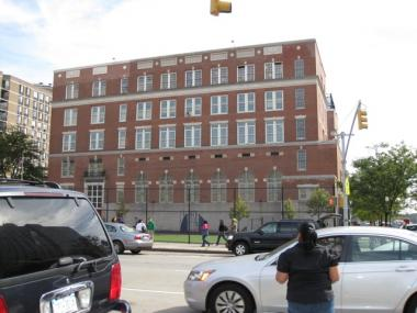 The Academy for Environmental Science Secondary School in East Harlem saw its grade slip from a C to a D.