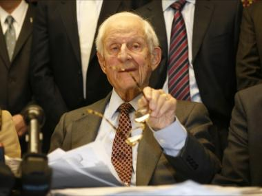 Robert Morgenthau has been Manhattan's District Attorney since 1975.