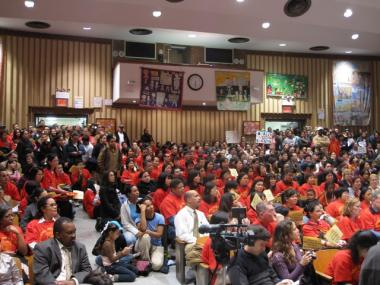 Parents Protest Charter School Expansion On The Lower East Side