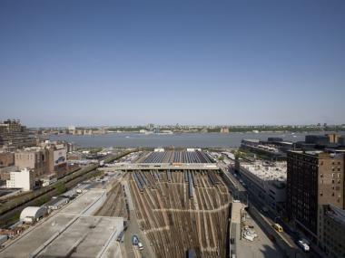 The Western Rail Yard is Manhattan's largest undeveloped space.