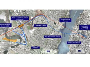 NJ Transit to Approve $583M West Side Tunnel Construction Contract