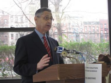 State Assembly Speaker Sheldon Silver said he was concerned that the DOE's plans to expand Girls Prep would come at the expense of thriving, local elementary schools.