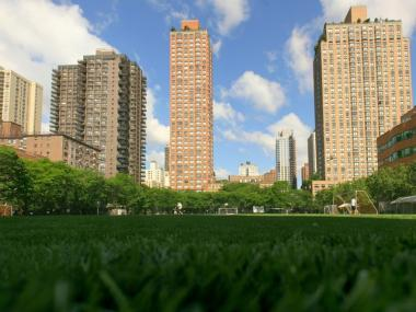 The Asphalt Green recreational complex on the Upper East Side.