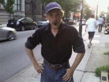 A MySpace photo of Jeffrey Fisher, 48, who is accused of calling in death threats to the mayor and police commissoner.