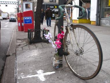 A Midtown community group is pushing for tougher bike safety laws after an elderly man was hospitalized during an encounter with a bike messenger.