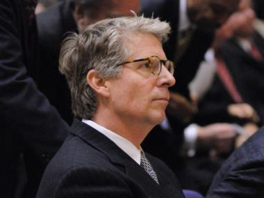 Cyrus Vance, Jr. at his swearing-in ceremony in January. Vance pledged to create a