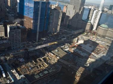 A 200-year old ship was unearthed at the WTC site.