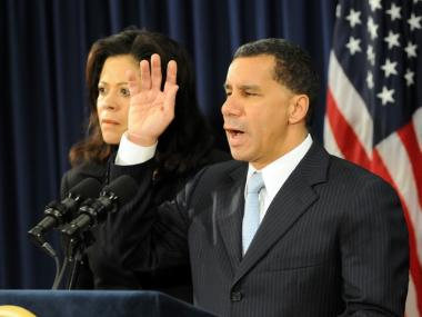 Gov. David Paterson.