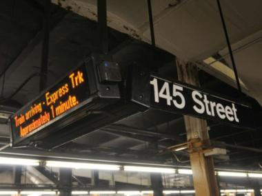 New digital subway signs debuted in stations along the 6 line this month.