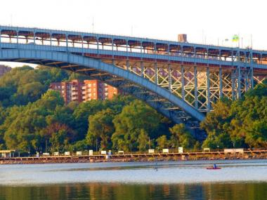 Repairs are almost finished at the Henry Hudson Bridge, which links Inwood to the Bronx.