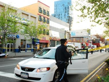 A pedestrian was struck on Delancey Street and killed on April 12, 2010.
