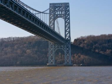 A teenager jumped 200-feet off of the George Washington Bridge on Monday night and is now in critical condition.