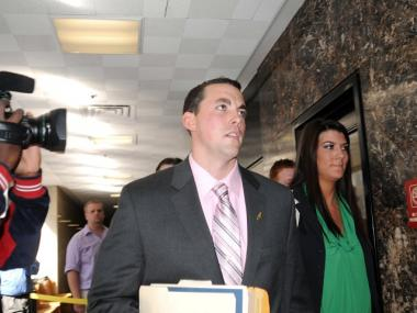 Former rookie police officer Patrick Pogan, 24, took the stand in his own defense Friday.