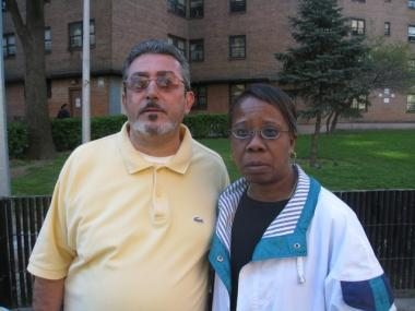 Fernando and Valerie Riollano say that rats are terrorizing residents of Baruch and threatening their safety.