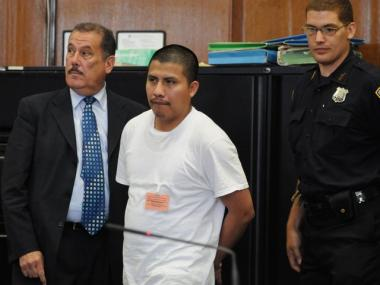 Jamie Lopez Mendoza was convicted at trial of raping a Dream hotel guest. Mendoza (above) at an earlier court appearance.