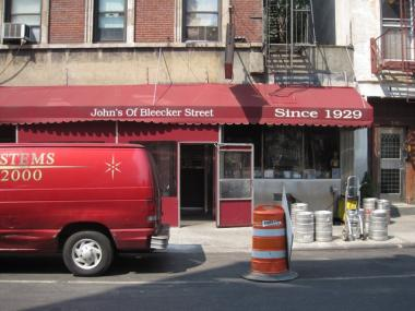 John's of Bleecker Street will square off against Grimaldi's in