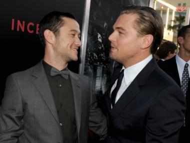Joseph Gordon-Levitt, seen here with Leonardo DiCaprio, has been filming scenes for
