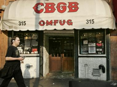 NYU is offering a course on the history of punk rock, which will include the part the now-closed CBGB's played in the movement.