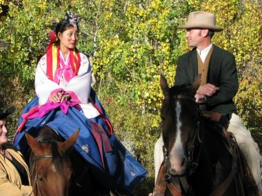 Yoon's Wyoming wedding — to a fifth-generation cowboy — was one of her most memorable.
