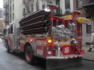 Firefighters responded to 1955 Second Avenue Friday morning.