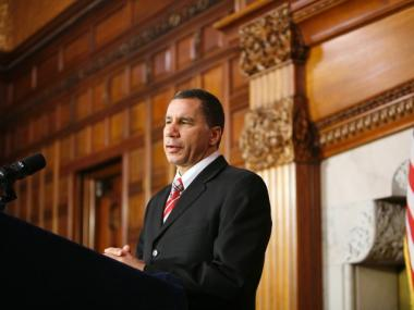 Gov. David Paterson shown here at the state capitol earlier this summer, suggested Tuesday that the developers of the Ground Zero mosque move the project farther from the World Trade Center site.