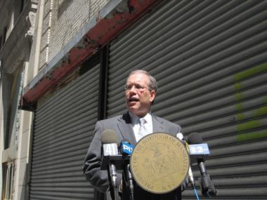 Borough President Scott Stringer responded to Tea Party leader Mark Williams' latest incendiary blog post Tuesday morning.