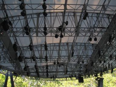 The new $250,000 sound system has already been installed at Rumsey Playfield in Central Park.