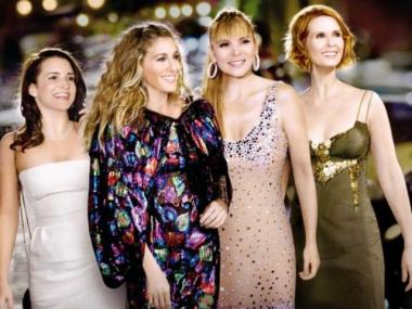 "Kristin Davis, Sarah Jessica Parker, Kim Cattrall and Cynthia Nixon return in ""Sex and the City 2,"