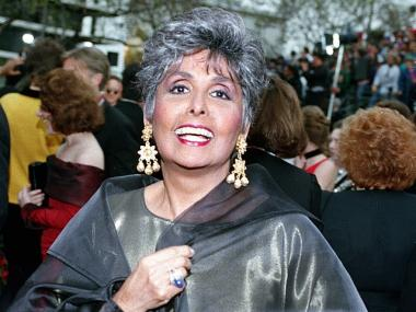 This is a March 29, 1993 file photo of singer-actress Lena Horne at the 65th Annual Academy Awards ceremony in Los Angeles, Calif. Singer Lena Horne, who broke racial barriers as a Hollywood and Broadway star famed for her velvety rendition of