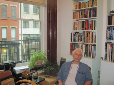 Jeff Ehrlich, 63, moved into his Chambers Street loft in 1971 and finally became rent-stabilized under the Loft Law several years ago.