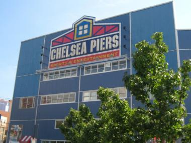 A fire broke out on a pair of boats docked behind the Chelsea Piers complex overnight on Feb. 4, 2011.