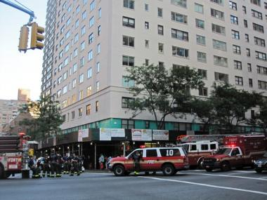 The FDNY responds to a fire at 71 Street and Third Avenue on Thursday, June 24, 2010.