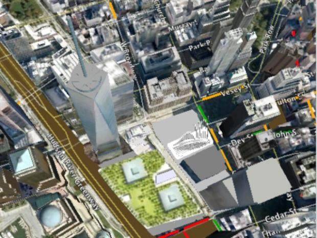 Google Earth Map Gives a 4D View of Downtown Construction ... on