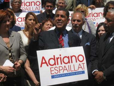 Adriano Espaillat lauded his