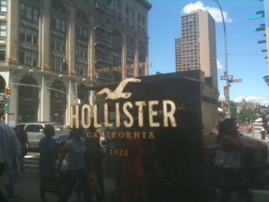 The Hollister clothing store in SoHo abruptly closed two weeks before its first anniversary because of bedbugs.