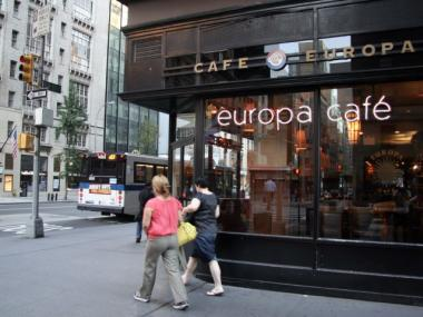 A cashier at Cafe Europa on West 57th street is accused of stealing more than $72,000 from the register.