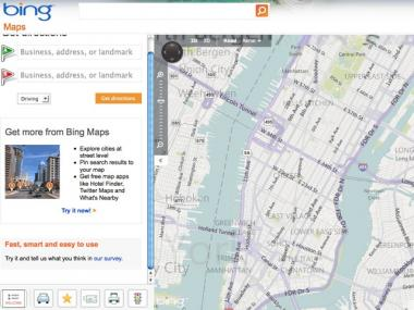 Bing Maps released a new cab fare calculator.