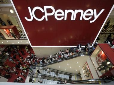 The JC Penney store in the Manhattan Mall, where an 11 year old girl was molested Saturday.