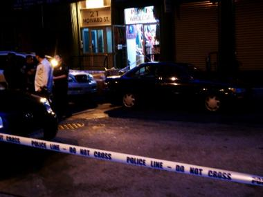 A man was stabbed on Howard Street in SoHo Tuesday.