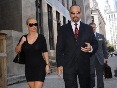 Rapper Ice-T and his wife Coco were happy to hear his driving with a suspended license charge was dismissed on Tuesday.