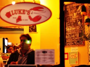Luke's Lobster on E. Seventh Street in the East Village.