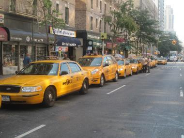New York City was voted the easiest place to hail a cab by Hotels.com, but also as having the rudest drivers.