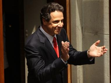 New York Attorney General Andrew Cuomo leads Carl Paladino by more than a 2-to-1 margin according to a poll released Thursday.