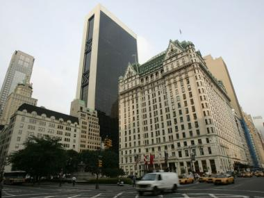 The Plaza Hotel in Midtown. Its residences are managed by Cooper Square Realty.